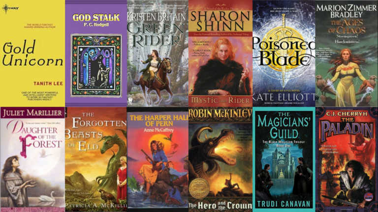 12 Action Fantasy Books with Female Lead